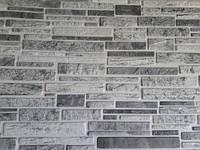 Пластикові панелі ПВХ Регул-ПЛАСТУШКА ЧОРНО-БІЛА 978*496 мм