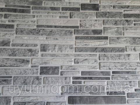 Стеновые панели ПВХ Регул-ПЛАСТУШКА ЧЕРНО-БЕЛАЯ 978*496 мм