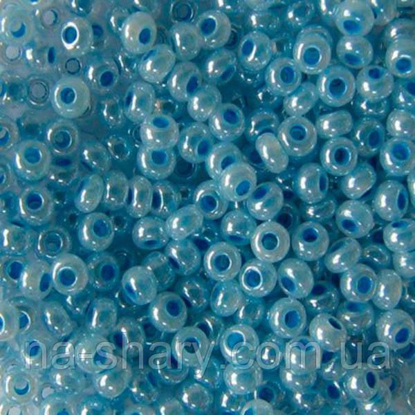 Чешский бисер для рукоделия Preciosa (Прециоза) оригинал 50г 33119-37336-10 Голубой