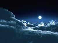 Фотообои ArtWalls Фотообои Загадочная луна NAT-034 Глянец