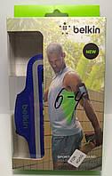 Спортивний чохол Belkin Sport-Fit Armband для телефону Iphone 4 | 5 синій
