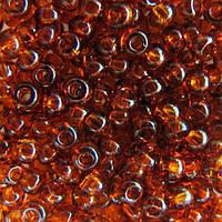 Чешский бисер для рукоделия Preciosa (Прециоза) оригинал 50г 31119-10110-10 Янтарный