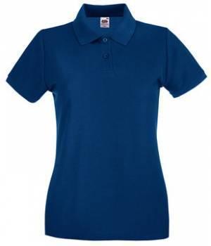 Женская футболка Поло хлопок 030-32-k381  fruit of the loom