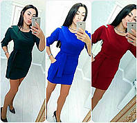 """Женское платье с карманами ( жіноче плаття ) """"Мариса""""   4 цвета в наличии , фото 1"""