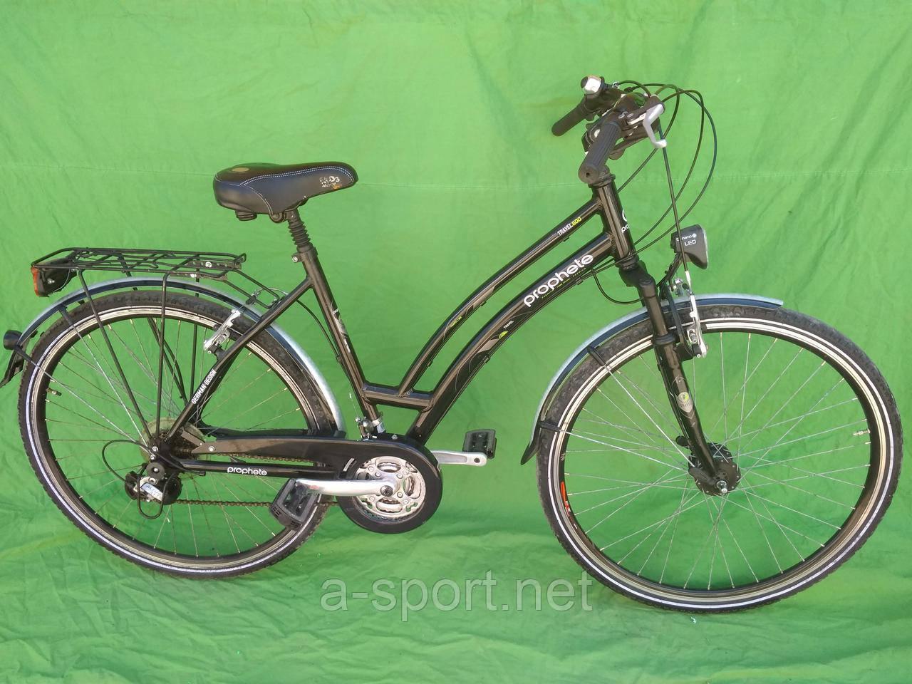 Жіночий велосипед, дамка Prophete, алюміній, динамо