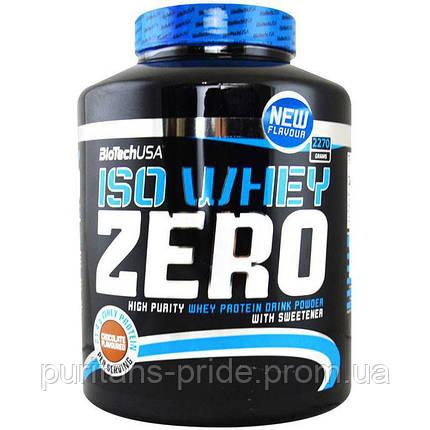 Сироватковий протеїн BioTech (USA) Iso Whey Zero 2270 гр, фото 2