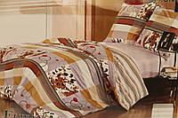 Сатиновое постельное белье ELWAY (размер Семья) 3778