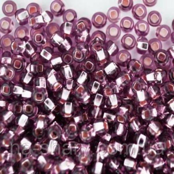 Чешский бисер для рукоделия Preciosa (Прециоза) оригинал 50г 33129-27010-10 Фиолетовый