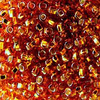 Чешский бисер для рукоделия Preciosa (Прециоза) оригинал 50г 33129-17090-10 Янтарный