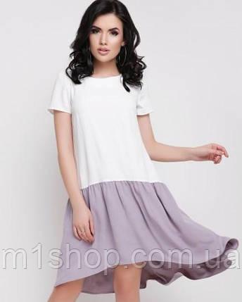 Женское летнее двухцветное платье (Julia fup), фото 2