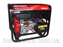 Дизельный генератор BERGO (Берго) SD6000 (6kW ,трехфазный)