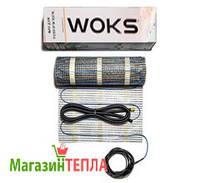 Теплый пол под плитку WoksMat 160W/m² (Украина) - тонкий нагревательный мат 2.5м² (400W)