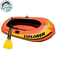 Лодка надувная Intex 58355 (160х94х29 см.) Explorer 100