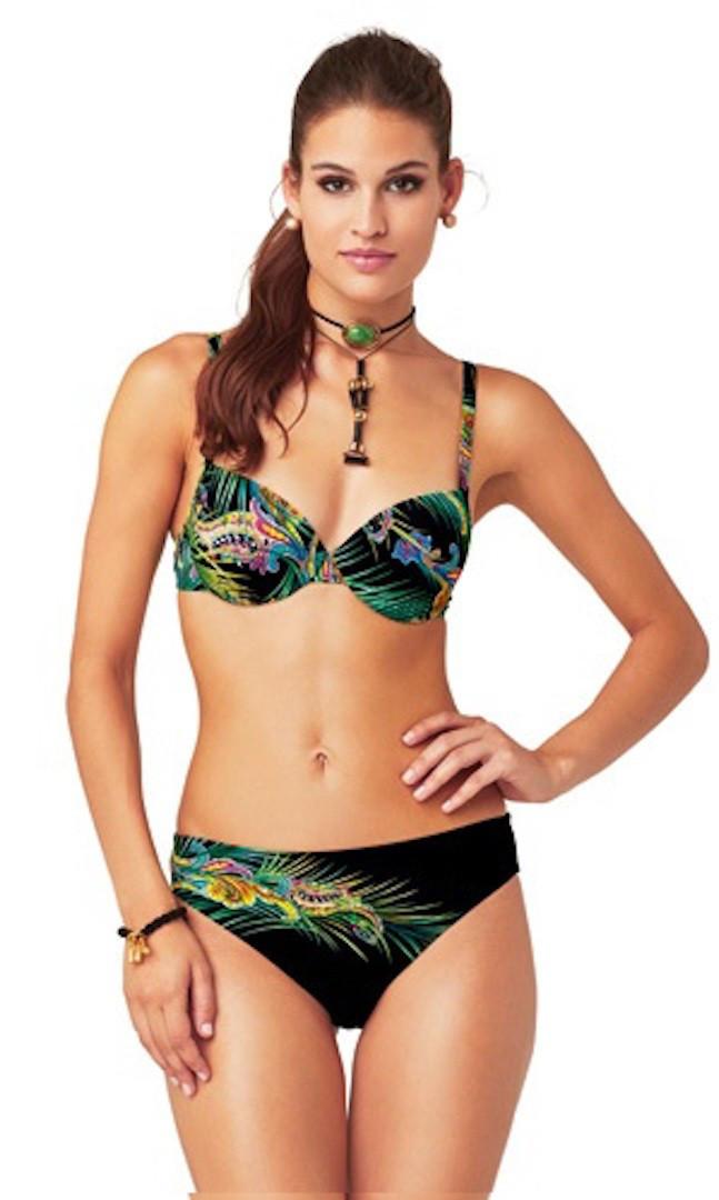 77071ccef56a9 Женский купальник купить с кристаллами Swarovski Magistral BO 268 46D  Черный - Интернет магазин одежды оптом