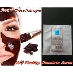 Самонагревающийся шоколадный скраб для лица, 15 г