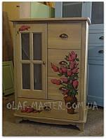 Мебель с ручной росписью. Мебель на заказ.