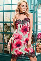 Красивое летнее платье  KP-5885-7