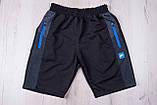 Чоловічі трикотажні шорти Nike, темно-синього кольору., фото 5