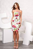 Красивое летнее платье  KP-10030-3