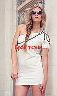 Платье с погоном Оra 100111 SALE 46(L) Шампань Ora 100111 SALE