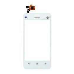 Сенсорний екран для смартфону Huawei Ascend Y320-U30 Dual Sim, тачскрін білий