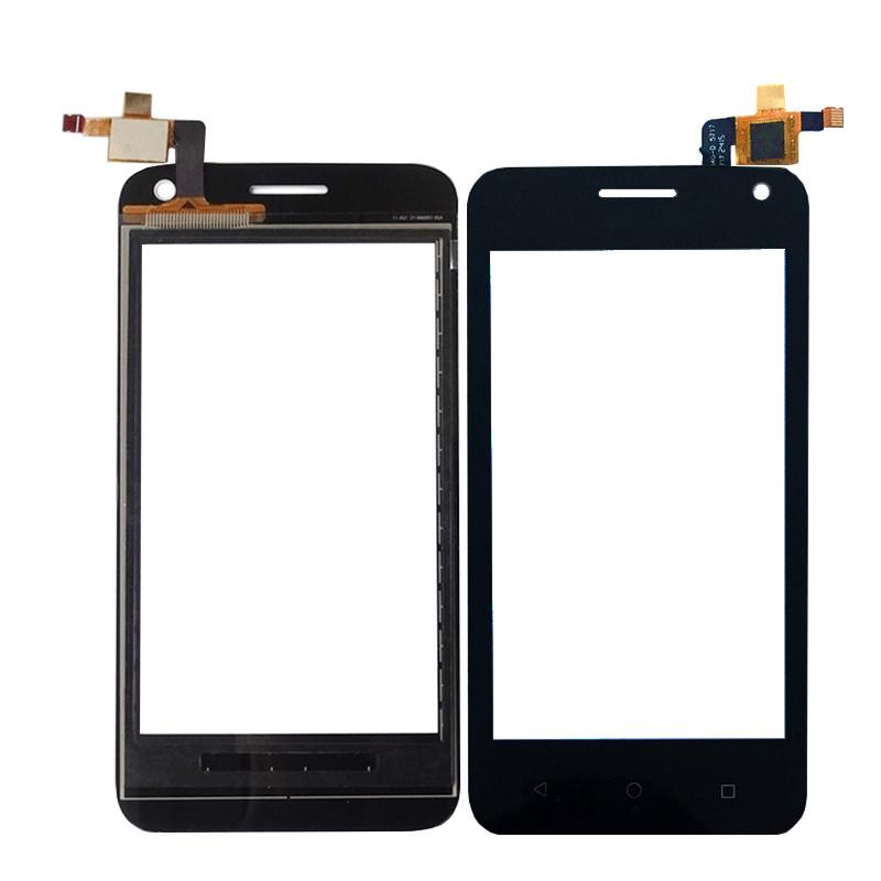 Сенсорний екран для смартфону Huawei Ascend Y360, Ascend Y3C Y336, тачскрін чорний