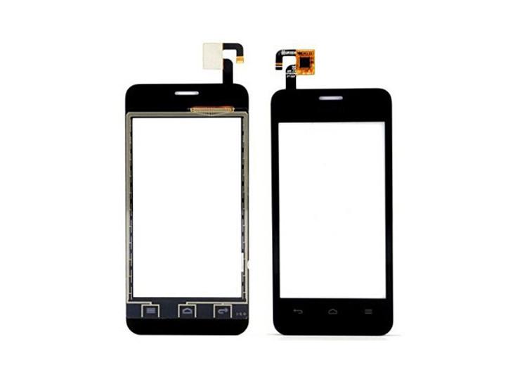 Сенсорный экран для смартфона Huawei Ascend Y320-U30 Dual Sim тачскрин черный # LCFT040807