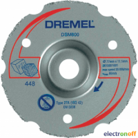 Диск для резки Dremel заподлицо для DSM20