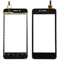 Сенсорний екран для смартфону Huawei Ascend Y3 II, (LTE версія), тачскрін чорний