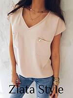 Блуза со значком Шанель, фото 1