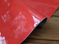 Кожа натуральная Лак  т.1,2-1,4мм цвет карал