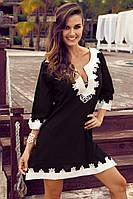 Летная пляжная туника рубашка Iconique KA 3101 N 44(M) Черный