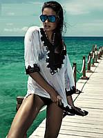 Белая пляжная рубашка женская Iconique KA 3101 W 44(M) Белый