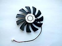 Вентилятор №42 кулер для видеокарты MSI GTX 1050ti 1060 RX 460 560 550 HA8010H12F-Z HA9010H12F-Z