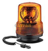 Маячок проблесковый оранжевый 24в на магните Турция TR 502-3