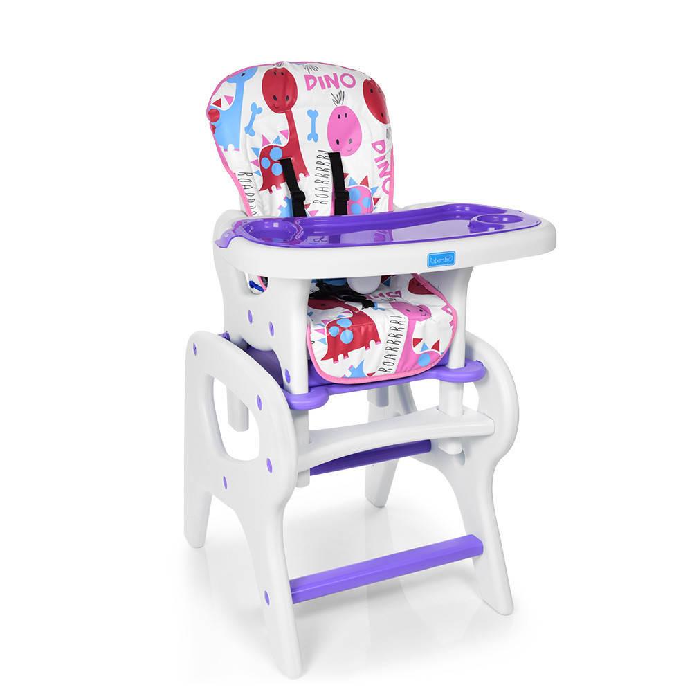 Стульчик для кормления трансформер M 0816-24 фиолетовый ***