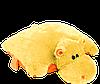 """Декоративная подушка-игрушка """"Бегемотик""""(медовый) 55 см"""