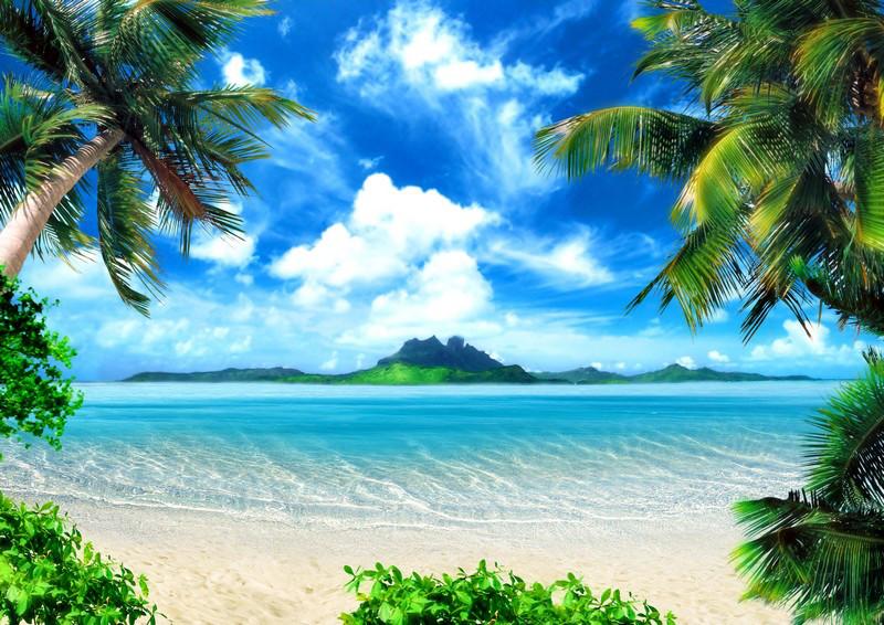Фотообои ArtWalls Фотообои Карибское море SE-1 Глянец