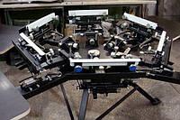 Карусельный станок для шелкографии, трафаретной печати HMA 4x6-02