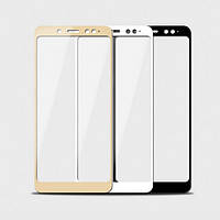 Защитное стекло 9H на весь экран для Xiaomi Redmi Note 5 / Note 5 Pro Белый