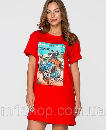 Женская туника-футболка (2348sk), фото 2