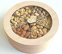 "Подарочный Набор Коробочка с Орехами 600 г ""Lovely nuts"""