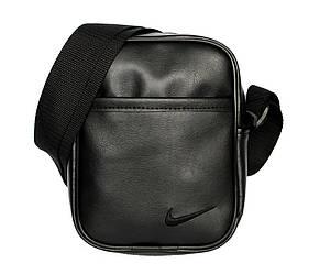 Спортивная мужская сумка черная (N-07)