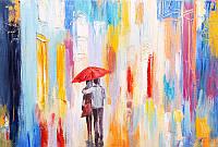 Фотообои ArtWalls Фотообои Под зонтом AB-2 Глянец