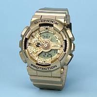 Спортивные часы Casio G-Shock  Ga-110 (касио джи шок) All Gold класса AAA