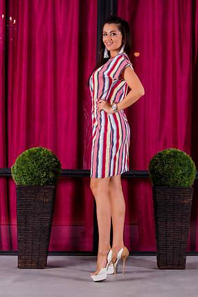 Платье 413 с кулиской полоска, фото 2
