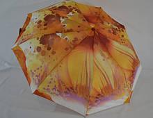 Женский зонт полуавтомат   на 9 спиц