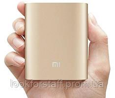КОМПАКТНЫЙ!! Power bank Xiaomi 10 400 mAh NV (пауэрбанк ксиоми) Внешнее зарядное устройство- акуумулятор