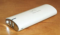 2 USB порта + ФОНАРИК!! Power Bank UKC 20 000mAh (пауэрбанк) Внешнее зарядное устройство- акуумулятор