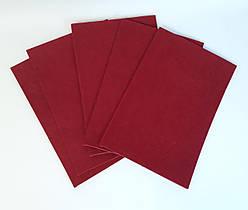Бумага Цветная Фетр А4 без клеевой основы Бордо 7735 Китай
